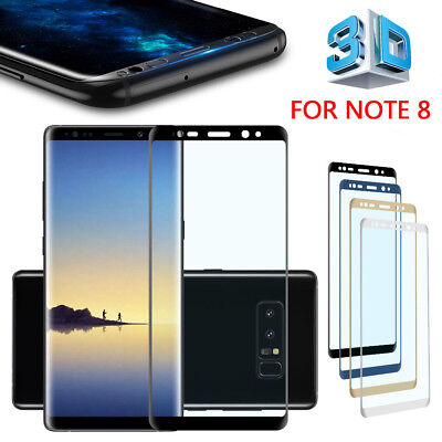 3D FullCover Tempered Glass Film Screen Protector fr Samsung Galaxy S9 Plus QWE