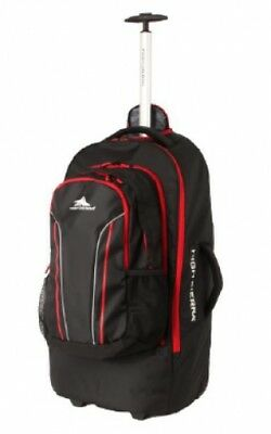 4116ea965a8 NEW High Sierra Composite 76Cm Wheeled Duffle With Zip Off Daypack - in  BLACK -