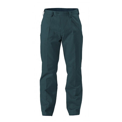 NEW Bisley Pants  Original Cotton Drill Pants Bottle - in Bottle Green - 92 -