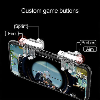 Gaming Trigger Cell Phone Game PUBG Controller Gamepad for Android IOS System FA