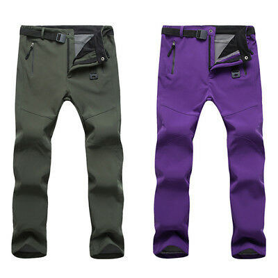 Men Women Ski Pants Skiing Snowboard Trousers Snow Chill-proof Winter Warm