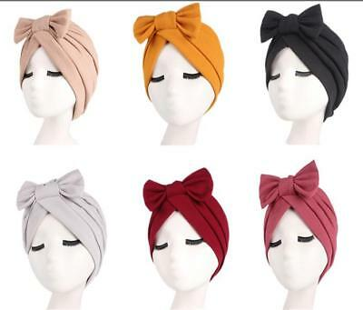 Fashion New Style Women Hijab Turban Head Wrap Cap Beanie Head Scarf India Hat