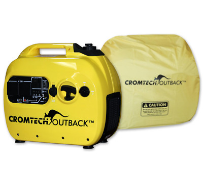 NEW Cromtech 2400w Inverter Generator with Cover, 1 year warranty