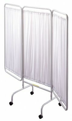 """R&b Wire Products Inc. 3 Panel, 81"""" x 69"""" Privacy Screen, White  PSS-3C"""