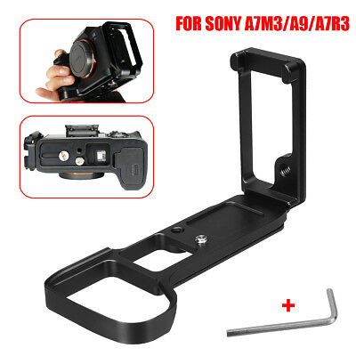 Quick Release  L Plate Bracket Grip Camera Holder For Sony A7III M3 A9 A7RIII