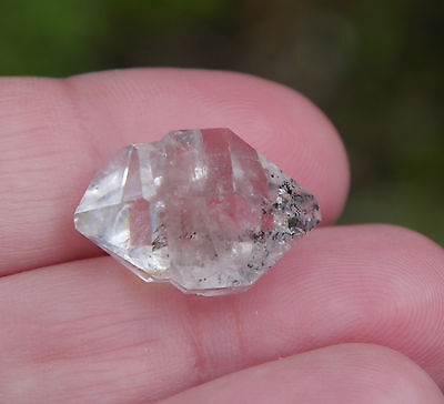 Herkimer Diamant Bergkristall New York Quarz klar ca.19,5ct Top Sammlerstück 03