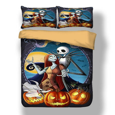 The Nightmare Before Christmas Duvet Cover Pillow Cases Quilt Cover