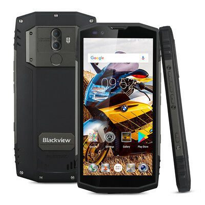 "IP68 5.7"" Blackview BV9000 Pro 4G Smartphone Octa Core 128GB 6GB Tri-Proof NFC"
