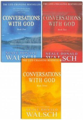 Conversations with God Books 1,2,3, Collection Set By Neale Donald Walsch Set