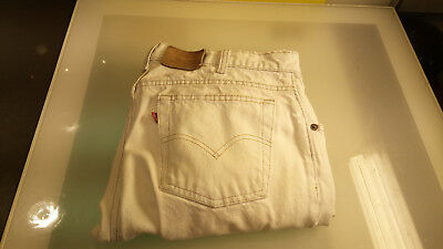 Levi Strauss Red Tab Jeans 531 White Good condition Vintage Levis Men's Size 36