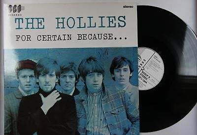 The Hollies For Certain Because... UK LP 1988 Reissue FOC 60s Pop Beat