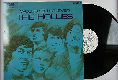The Hollies Would You Believe? UK LP Reissue Of 1966 Album Beat Pop