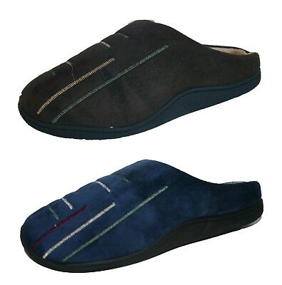 Men's Boys Coolers Embroidered Mule Slippers  Sizes 7 - 12