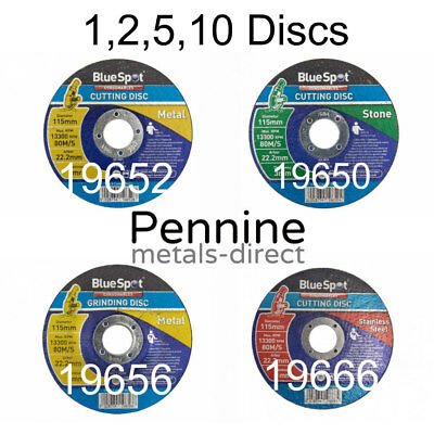 BlueSpot Cutting Discs - Stone, Metal and Steel available