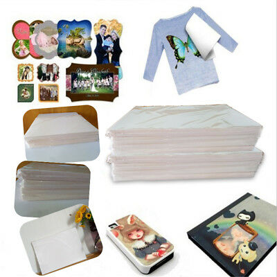 50 SHEETS A4 Self Weeding Sublimation Heat Transfer Paper for Light