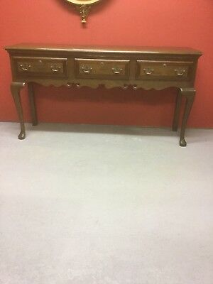 Antique Style Oak Dresser Base With Drawers Under Sn-518