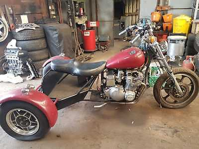 SUZUKI MOTOR TRIKE with RELIANT REAR AXLE ( UNFINISHED PROJECT )