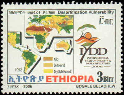 2006 Ethiopia #1708-1711, Complete Set(4), Never Hinged