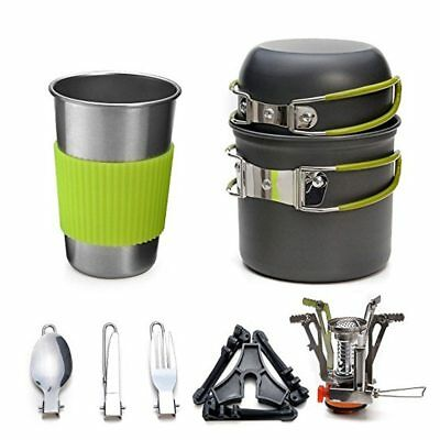 5ff9304d925a OUTDOOR CAMPING COOKWARE Utensils Hiking Backpacking Tableware Pot ...
