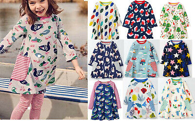 Mini Boden girls jersey print swing dress tunic top various prints all ages