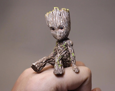 Guardians of The Galaxy Vol. 2 Baby Groot Figure Cute 2 Toy Gift | Free Shipping