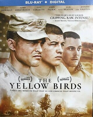 The Yellow Birds (Blu-ray Disc + Digital Copy, 2018) BRAND NEW SEALED