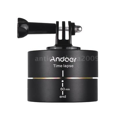 Andoer 360 Degree Tripod Head Panoramic Stabilizer for GoPro Hero DSLR P9A3