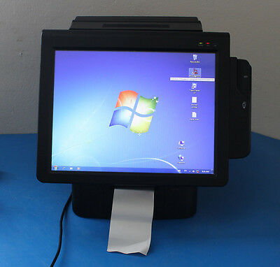 "POSBANK IMPREX D5 AIO POS System Computer 15"" Touchscreen Windows Installed"
