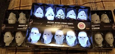 Michael Myers Halloween Box of String Lights Brand New in Box FREE SHIPPING