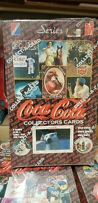 1993 Collect-A-Card Coca Cola Series 1 Unopened Collector Pack Trading Card Box