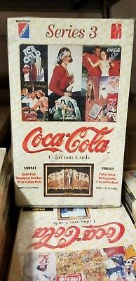 1994 Collect-A-Card Coca Cola Series 3 Unopened Collector Pack Trading Card Box