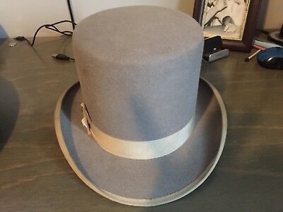 Antique Christy's Of London Beaver Top Hat