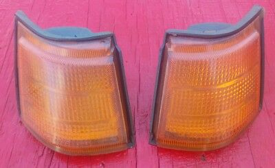 1985 Honda CH250 250 Elite - Rear Turn Signal Lenses Left & Right Lens