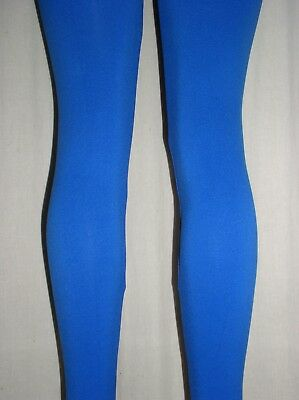 NWT Sexy Hot ROYAL BLUE Stretchy Soft Comfortable LEGGINGS - OS fits M L XL