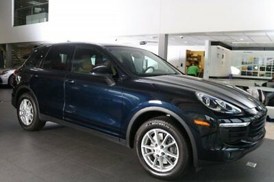 Porsche Cayenne  2016 SUV Used Premium Unleaded V-6 3.6 L/220 8-Speed Automatic w/OD AWD Blue
