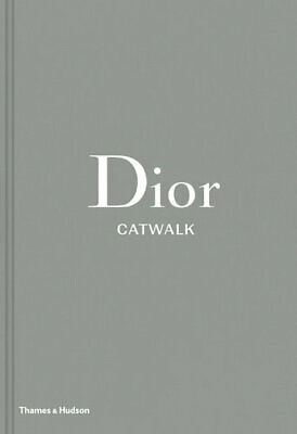 NEW Dior Catwalk By Alexander Fury Hardcover Free Shipping