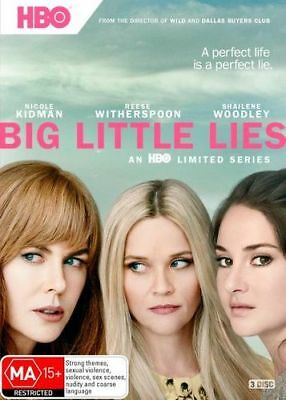 NEW Big Little Lies DVD Free Shipping