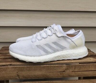 fb29af27f20d4 MEN S ADIDAS PUREBOOST Clima Size  10.5 White chalk Gray -  37.59 ...