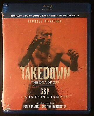 TAKEDOWN: The DNA Of GSP Blu Ray + DVD Combo Pack
