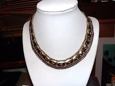 """EXCEPTIONAL CLEOPATRA STYLE COLLAR NECKLACE """"exquisite detail"""""""