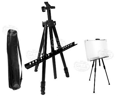 Outdoor Metal Artist Easels Display Stand Painting Canvas Tripod Max 167cm