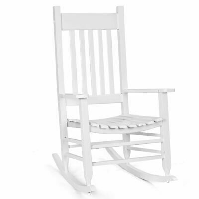 Awe Inspiring Solid Wood Rocking Chair Porch Rocker Indoor Outdoor Deck Pdpeps Interior Chair Design Pdpepsorg