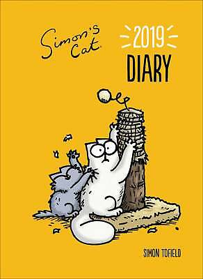Simon's Cat A5 Diary 2019 Humour Week To View