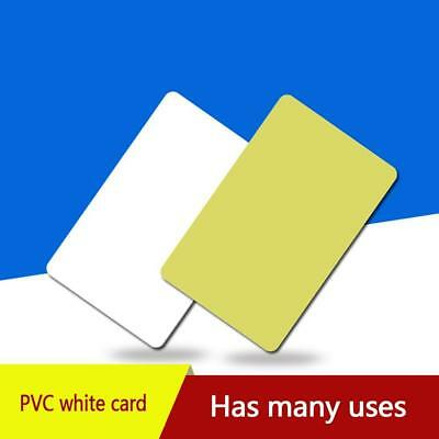 10PCS Blank Identification for Plastic Printing PVC Photo  Credit Card Set Gift