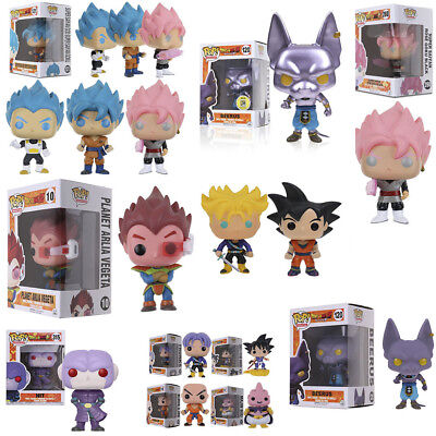 Funko Pop Dragon Ball Z #10 Planet Arlia Vegeta Goku #120 Beerus Vinyl Figure ES