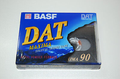 BASF DAT Maxima 90 Digital Audio Tape new, Made in Japan