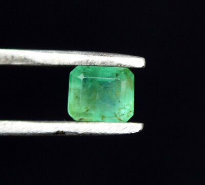 0.70 Ct. 100 % Natural Zambian Emerald Octagon Cut 5.5*4.5*3.5 mm Loose Gems