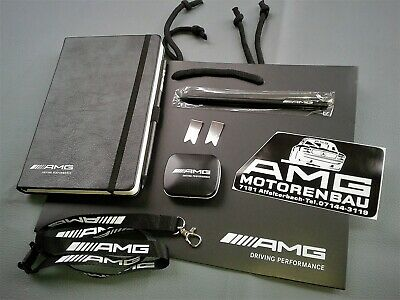 orig. AMG Notizbuch Workbook + div. Accessoires Driving Performance
