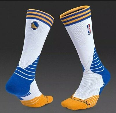 eb270bc03b13 Stance Golden State Warriors Official NBA Basketball Crew Socks Size Large  9-12