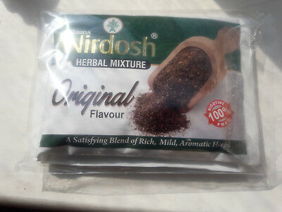 Nirdosh Herbal Mix Tobacco Nicotin Free Smoking Roll Ups 50g
